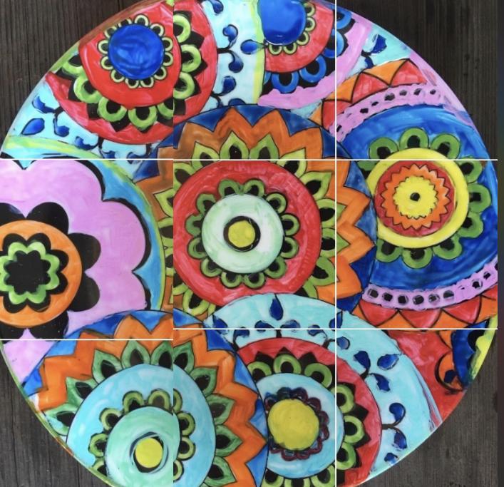 Meditation Plate