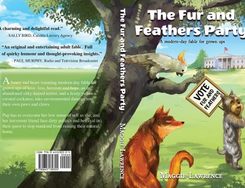 """Spotlight on Maggie Lawrence Author, """"The Fur and Feathers Party"""""""